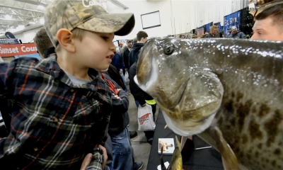 Wisconsin Fishing Expo: Colton's first visit
