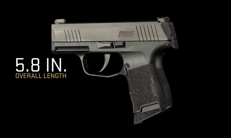 Sig Sauer: P365—Bring More. Everyday.